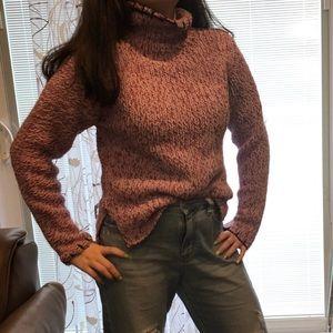 Sweaters - Wool purple sweater